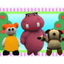 Kit Imprimible Hippa Hippa Hey Baby Tv Cotillon Promo 3x1