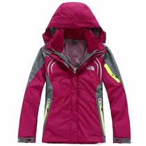 Camperas Para Nieve The North Face 3 En 1 Importadas Mujer