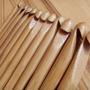 Set De 12 Agujas De Crochet De Madera Bamboo