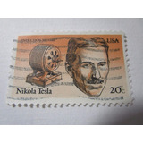 Nikola Tesla Ingeniero Electricista Electricidad L31 Tdc *