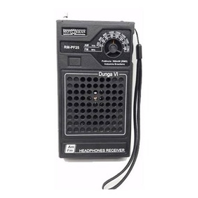 Rádio Portátil Motobrás Rm-pf25 Am/fm - Dunga