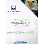 Block Para Óleo Schoellershammer  230gr/25*35/ 20 Hojas