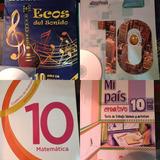 Libros 1/2 Uso Décimo Y 1ero Bachillerato