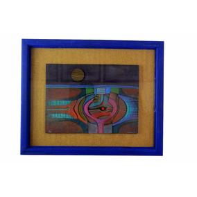 Arte Abstracto Conrado Dominguez Oleo Y Fibra De Vidrio