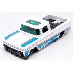 Hot Wheels Custom 62 Chevy Pickup 1/64 Blanca