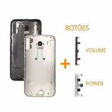 Carcaça Traseira Motorola Moto G3 G 3 Xt1543 Xt1544 + Botões