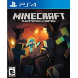 Sony Ps4 Minecraft Playstation 4 Edition