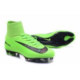 Zapatos De Fútbol Nike Mercurial Fluorescente Fluor