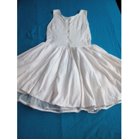 Vestido Corto Casual Juvenil Informal Algodón Fresco Talla 8