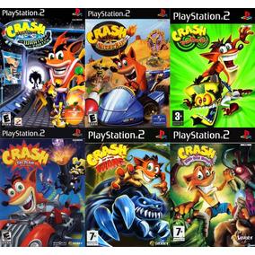 [ps2] Saga Crash Bandicoot Para Playstation 2 (6 Juegos)