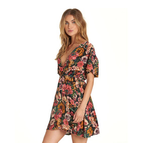 Vestido Grow Wild Billabong With You Multicolor Mujer