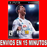 Fifa 18 Ps3 | Digital Español Latino Tenelo Ya Mismo 45% Off