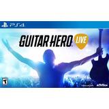 Guitar Hero Live Ps4 Nuevo Juego+guitarra Entrega Inmediata