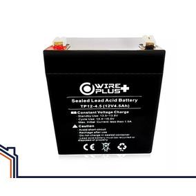 Bateria 12v 4.5ah Wireplus Recargable Ups Cerco Electrico
