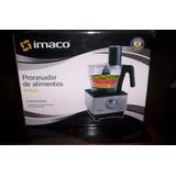 Procesador De Alimentos Imaco Fp600w Nuevo
