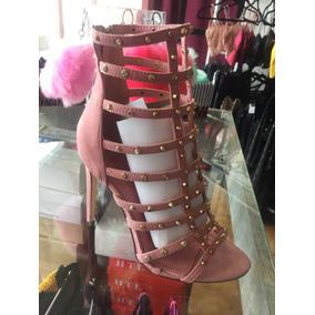 Zapatos Abiertos Con Stras Mujer 2018