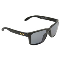 Óculos Oakley Holbrook Shaun White Matte Black Gold Polariza