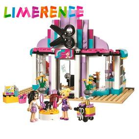 Salão De Beleza Cabelos Bonecas Blocos Compatível Lego