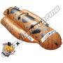 Inflable De Arrastre Banana Jet Bob 2 Personas + Cabo