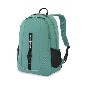 Mochila Backpack Laptop Swissgear Swiss Gear Verde