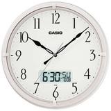 Reloj Casio De Pared/aguja/mes,dia,hora Digital/ Perlado
