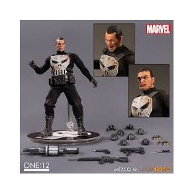 Nd955 Mezco Marvel One:12 Collective Punisher Nuevo