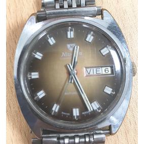 Reloj Nivada Compensamatic Vintage/ Antiguo 70s Suizo Swmo