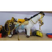 Cavalo De Artesanato Feito A Mão Brinquedo De Criança