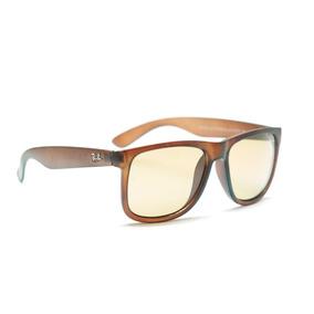 Gafas De Sol Rayban Justin Negra Y Café Uv400 + Accesorios 3ab3a8b604a5