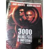 Dvd 3000 Milhas Para O Inferno O Mascarado V De Vingança 3x1