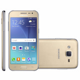 Samsung Galaxy J2 J200bt Duos Tv 4.7 8gb 4g Dourado Vitrine