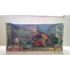 Set World Of Animals / Juego Mundo Animal / Dinosaurios