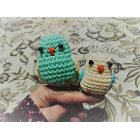 Crochet Pajaritos Amigurumi Tejidos De Varios Colores