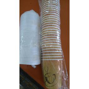 Caja De Vasos Desechables Para Cafe Con Tapa 8oz C/500