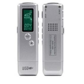 Gravador Espião Digital De Voz Powerpack Dvr + 8g