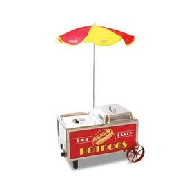 Carrito Hot Dog Nostalgia Perros Calientes Vv4