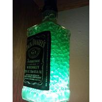 Lamparas Con Con Botellas De Alcohol Con Hidrogel