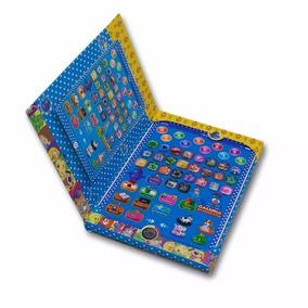 Tablet Infantil Multifunções Galinha Pintadinha Educacão