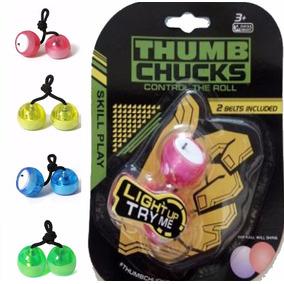 Thumb Chucks De Led Febre Do Momento Atacado.