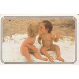 Calendário Bolso 1989 - Imagem De Crianças Brincando - D3
