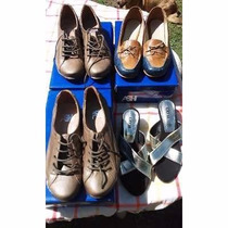 Lote Calzado Dama Hombre Zapatillas Sandalias Ojotas Zapatos