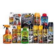 Super Kit Lavado Premium 14 Productos Combo Limpieza Autos
