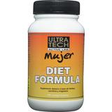 Quemador De Grasa Diet Formula Mujer, 60 Comp. Ultra Tech