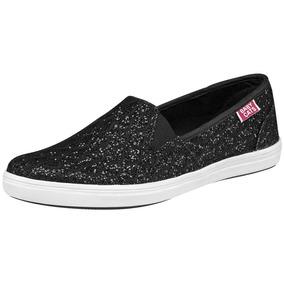 Zapatos Casuales Para Dama Baby Cats Negro U50746 Originales