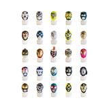 Lote De 10 Mascaras Para Niño Diversos Luchadores