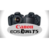 Camara Canon Modelo Eos Rebel T5 Nueva De Regalo Estuche