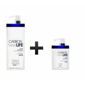 Anna Haven Carbon Life Mask Revitalizing 500g + Shampoo 1l