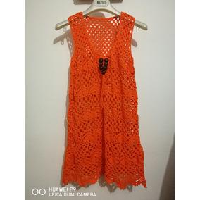 Vestido De Playa Tejido A Crochet
