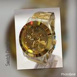 Reloj Swatch Dorado Original