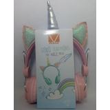 Audifonos Con Diadema De Unicornio Manos Libres Envio Gratis